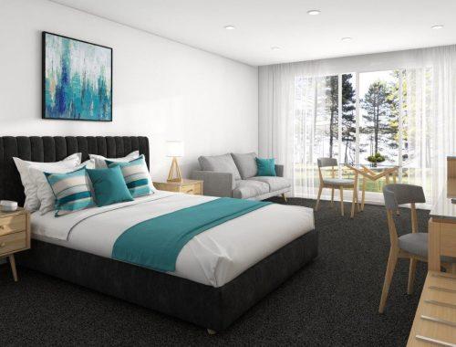 Sydney Motor Inn Hotel Interiors